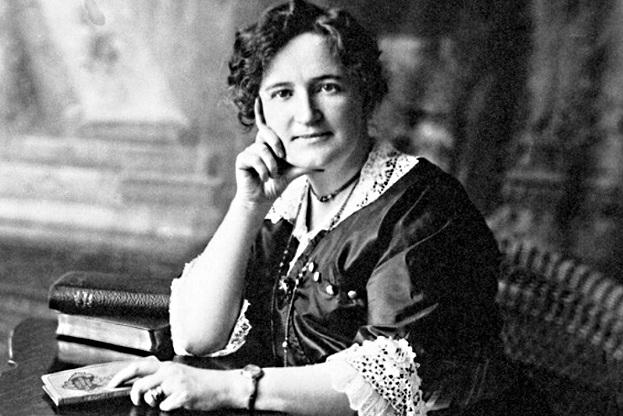 Nellie McClung campaigned vigorously to win the vote for women in Canada.