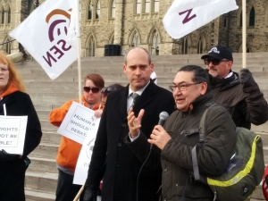 MP Romeo Saganash says his Bill C-262 would do away with colonialism toward Indigenous peoples in Canada