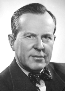 Prime Minister Lester Pearson inagurated the new Maple Leaf flag in February 1965 after a bruising debate with John Diefenbaker