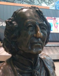 John A Macdonald spoke for hours in the House of Commons in 1873 to defend himself in the Pacific scandal