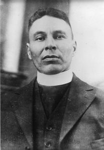 Edward Ahenakew, an Anglican clergyman of Cree ancestry, spoke about Indigenous fighters in the First World War